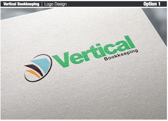 Vertical Bookkeeping - Logo Concepts Presentation