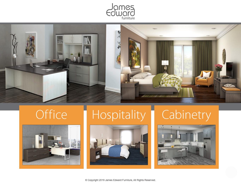 James Edward Furniture website